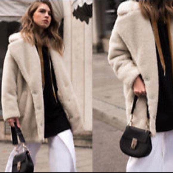 super quality online for sale best cheap Topshop Jackets & Coats | Teddy Coat | Poshmark